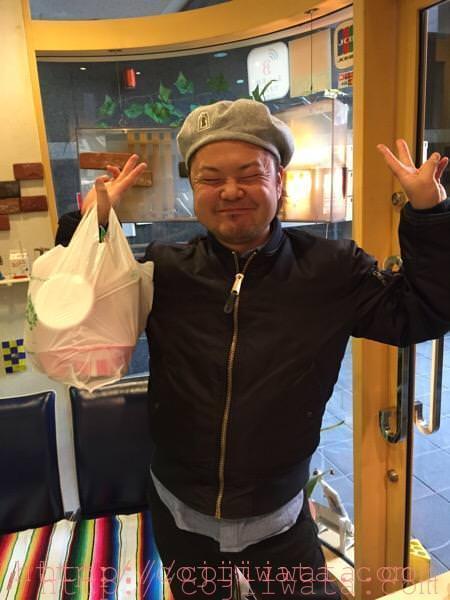 三好さんが来てくれました。
