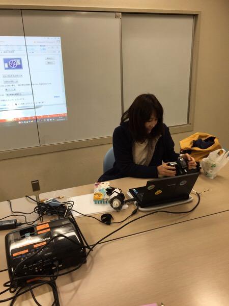 4月13日カメラ基礎セミナーに行ってました。