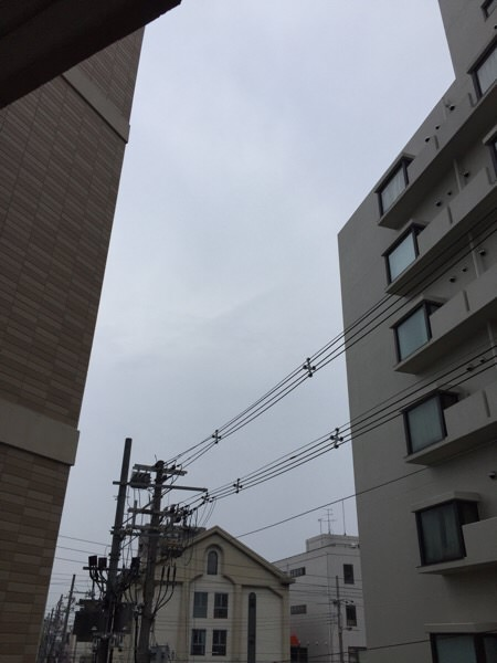 天気悪いけど