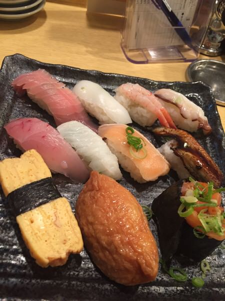 コスパの良いお寿司を食べてきた。