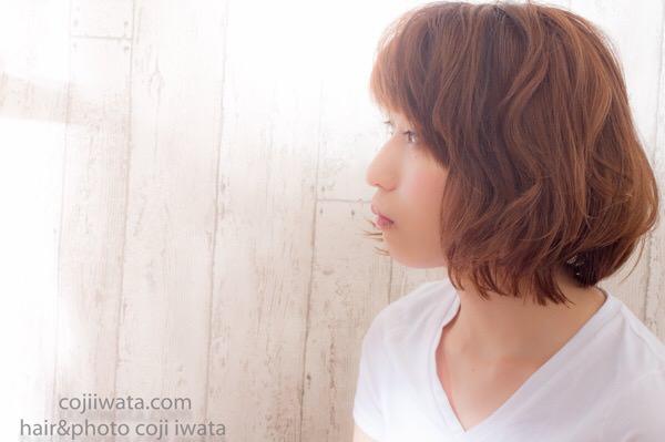 福岡から来てくれた美容師さんにオッジィオットのトリートメントをして撮影してみた