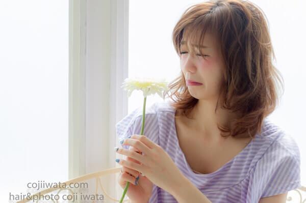 髪の毛についた花粉を綺麗に洗い流す方法