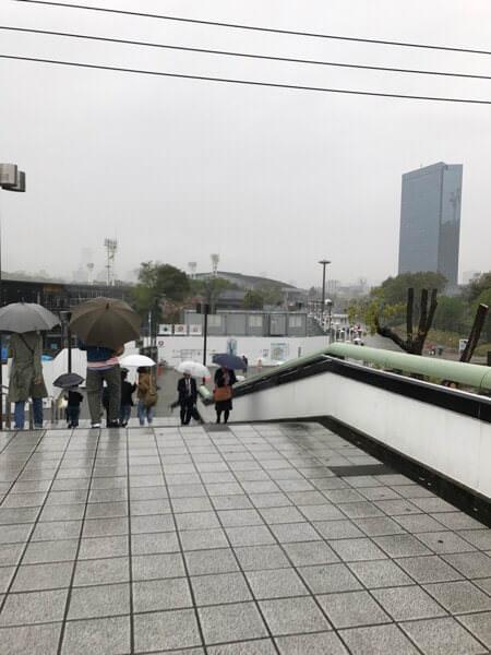 久々の超プライベートの用事で大阪城ホール来た