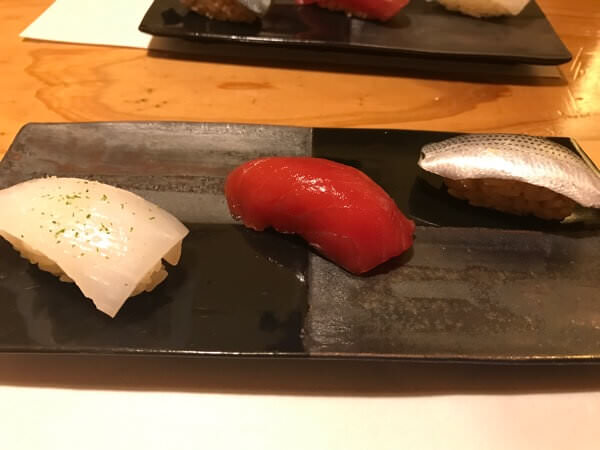北新地『しばさき』にてRoutine メンバーと寿司を食べながら先について話してきた。