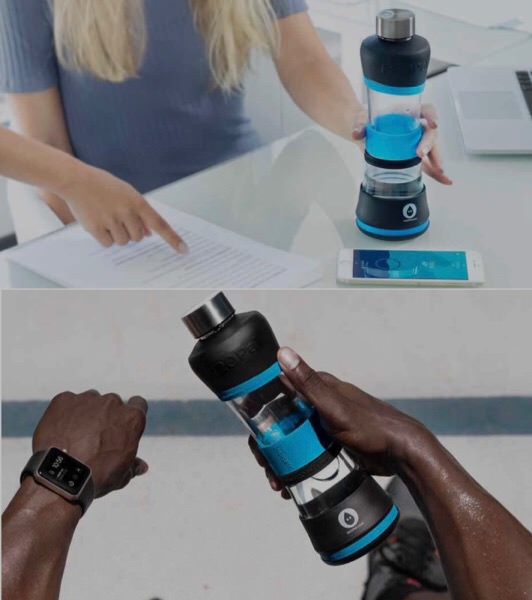 水分を取るタイミングを教えてくれるハイテクボトルH2Oパルが凄い!