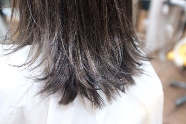【大阪 今里】30代から40代の大人世代には白髪を隠しながらのグラデーションカラーがオススメ。