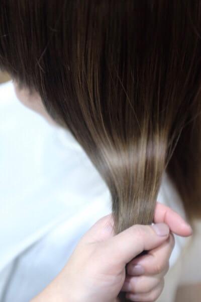 髪の毛が絡まった時の治し方