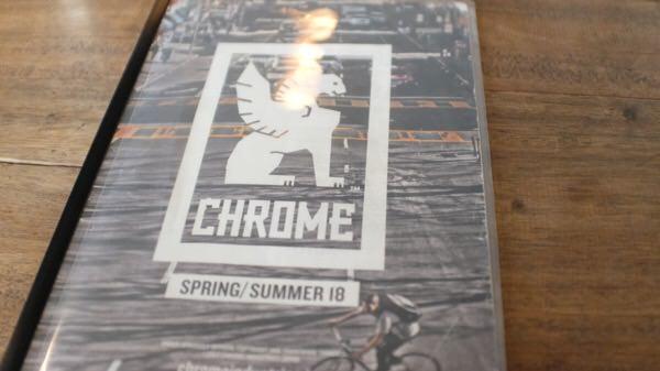 勢いでchromeのカバン買うの決めた。