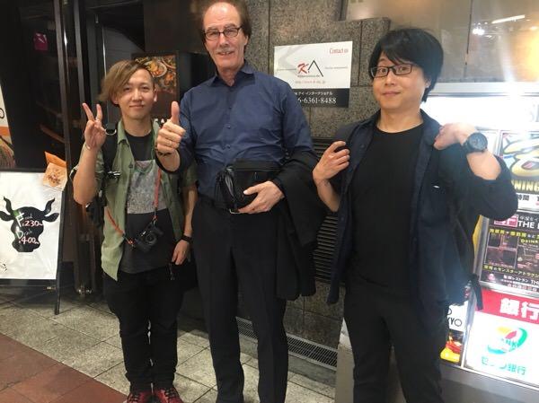 アマトラOQを発売するアマトラの代表取締役社長シュラメクさんと会食して来た!