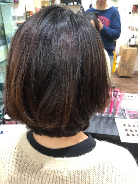 【大阪 今里 美容室】 伸ばしている髪の毛の艶と褪色を戻すのに傷まないル・ポリサージュはオススメ