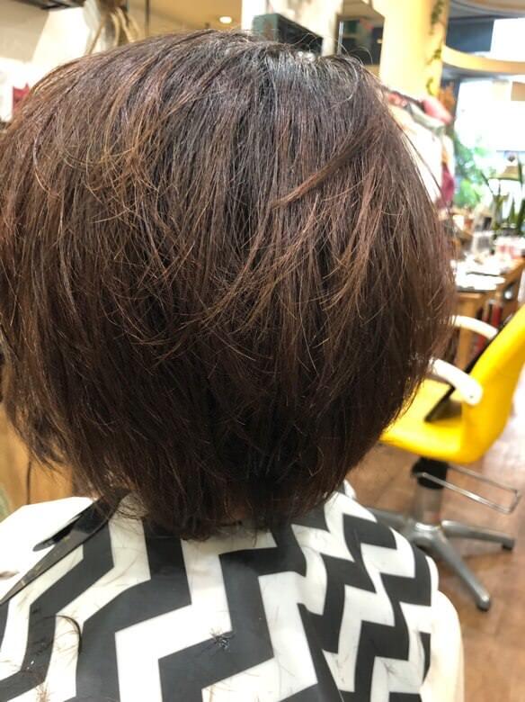【大阪 今里 美容師】細い髪質のトーンダウンにはル・ポリサージュが髪の毛に負担なくオススメ!