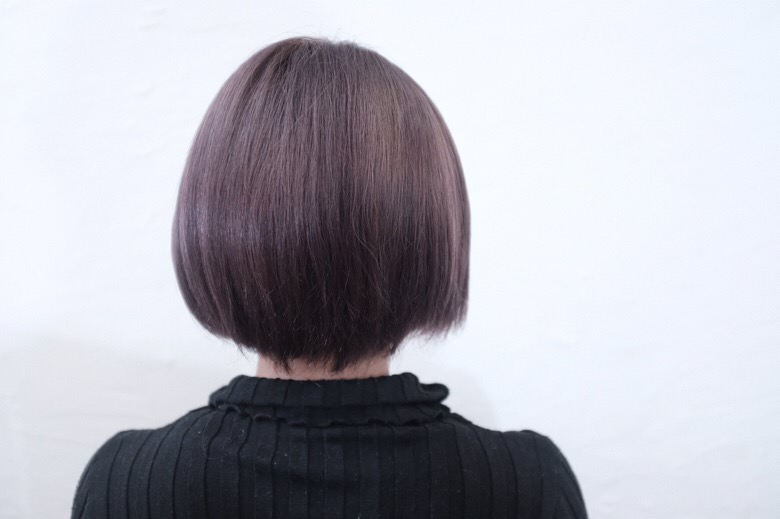 【大阪 今里 美容室】最短10分で別人に変えるル・ポリサージュの艶とシアラベンダーカラー