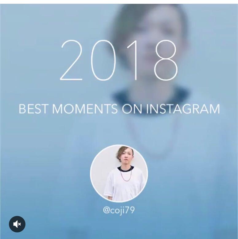 Instagramでスライドショーを作り1年を振り返る方法