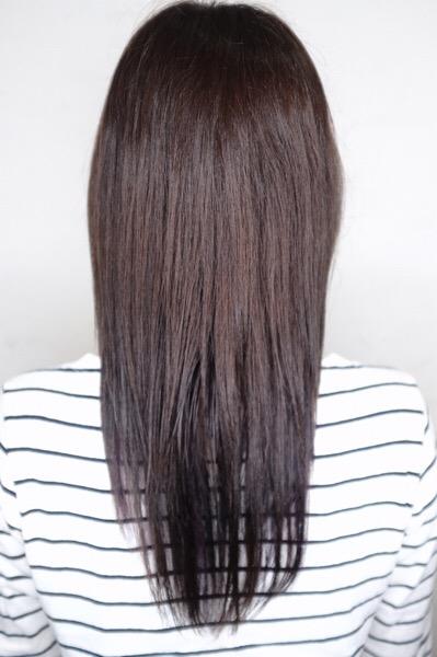 【大阪 今里】髪質改善とアールグレイで作るスロウの艶カラー