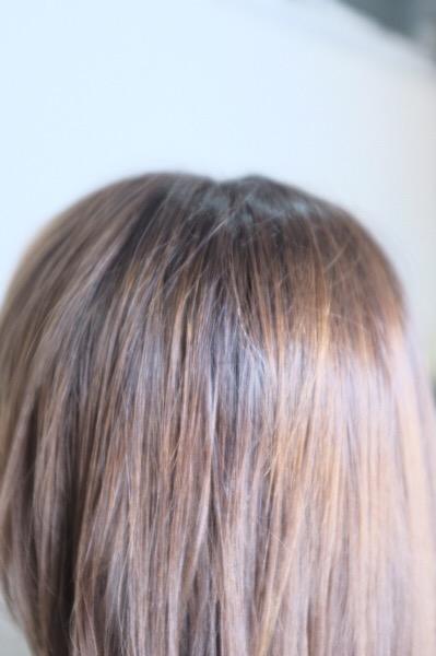 【大阪 今里】Rグレイ、酵素テクノロジーで作る明るめの白髪染め