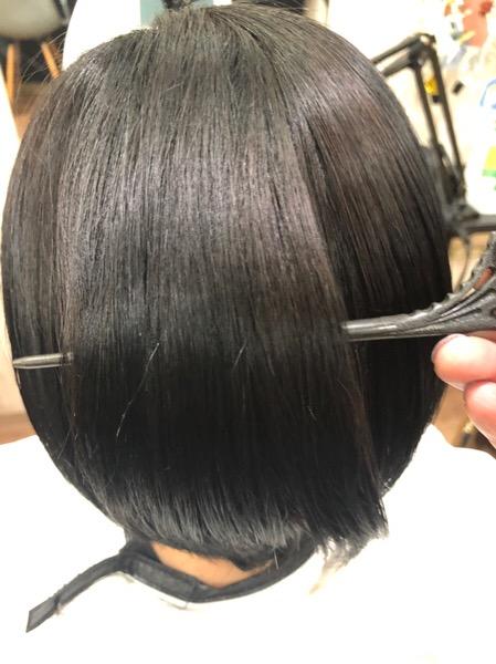 【大阪 今里】オッジィオットと組みあわせた髪質改善カラーで髪をツヤツヤにしてみた。