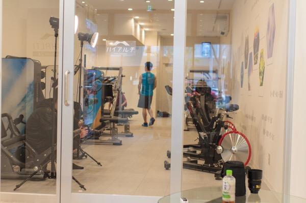 6月3日オープンの高地トレーニングジムハイアルチ心斎橋店の撮影に参加してきた!