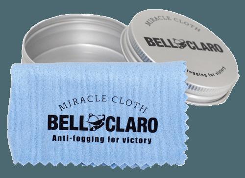 メガネの曇り止めクロス『BELL CLARO(ベルクラ―ロ)』が凄そう
