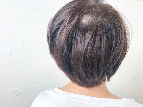 【大阪 今里】夏の褪色を利用して作る明るめの白髪染め