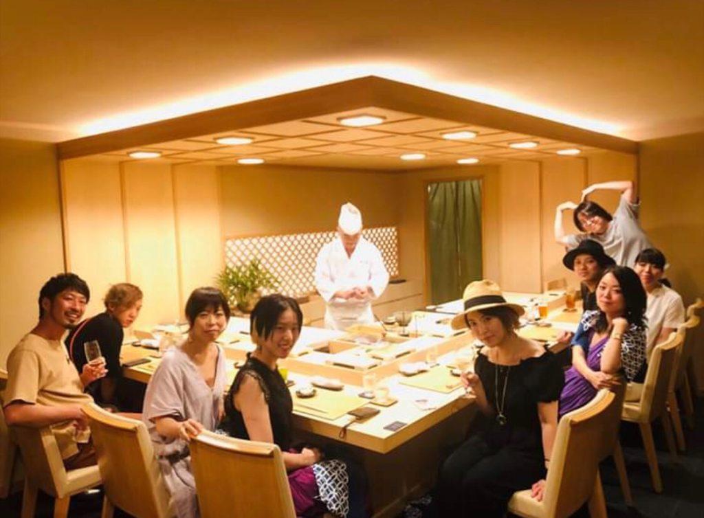 【西荻窪】鮨まるふくさんで色々な人に会ってきた