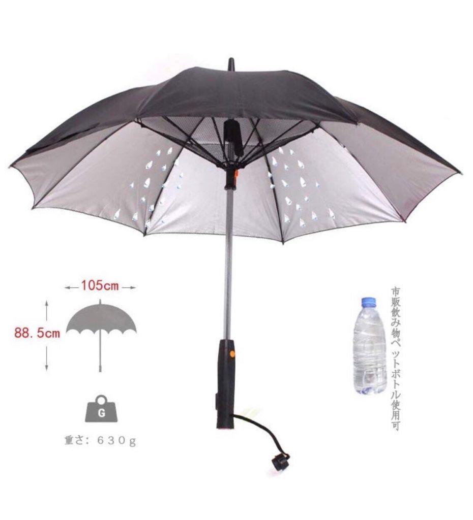 最強の日傘を見つけた