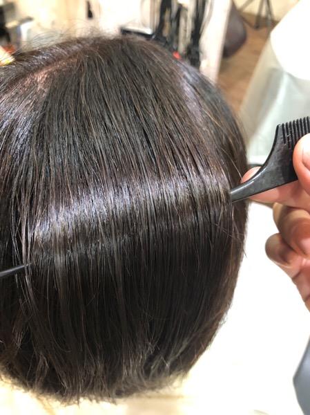 【大阪 今里 梅田 茶屋町】60代のお客様の髪の毛をFlowers(フラワーズ)シャンプーで艶々に戻してみた。
