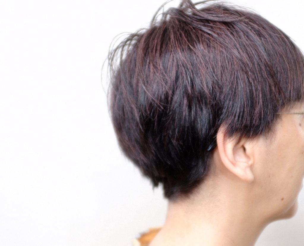 【大阪 今里 梅田茶屋町】頭皮に優しいルポリサージュで秋のショートスタイルを作ってみた