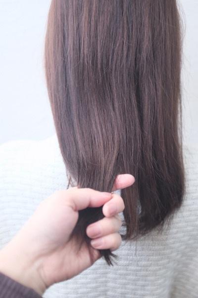 サロントリートメントをした髪の毛のホームケアの方法