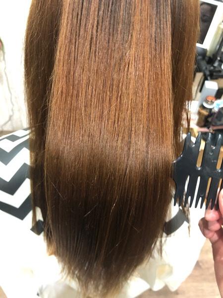 【大阪】ジュエリーシステム✖︎Luluトリートメントで軟毛のダメージ毛に縮毛矯正をしてみた。
