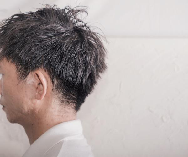 【大阪】セットが苦手の男性にはソフトツイストパーマがオススメ