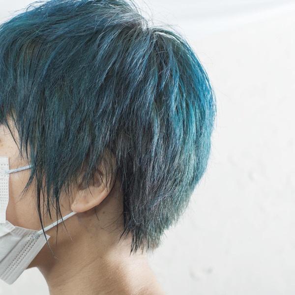 【大阪】tintbar のジェードグリーンで作るハイトーンカラー