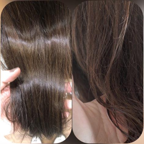【大阪】髪の毛の体力を増やすベホマカラーをしたお客様2選