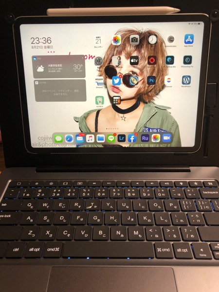 iPad ProをdoqoでMacBook風にしてみた!