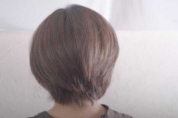 【大阪】大人世代の髪の毛にはベホマラーで綺麗なグレージュにしてみた