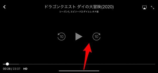 iOS 14でながら見ができるようになっていた!