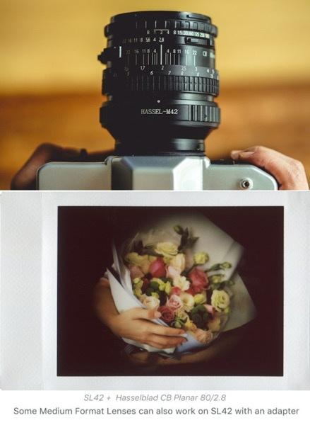 NONS SL42 一眼レフの機能が楽しめるインスタントカメラが気になる
