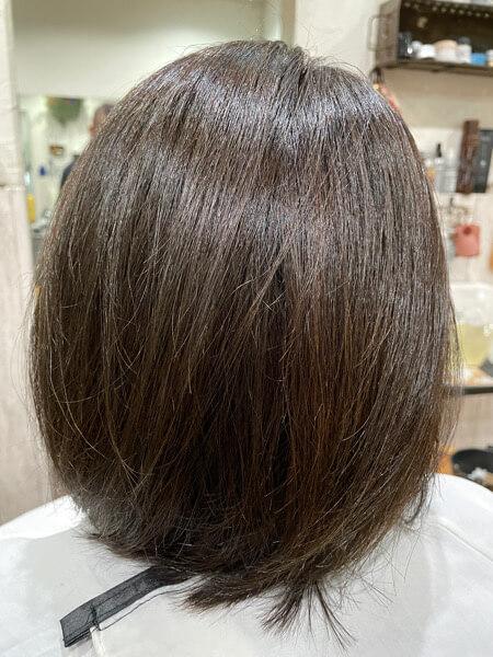 【大阪 今里】髪の毛が細くなった人に。ベホマトリートメントがオススメ