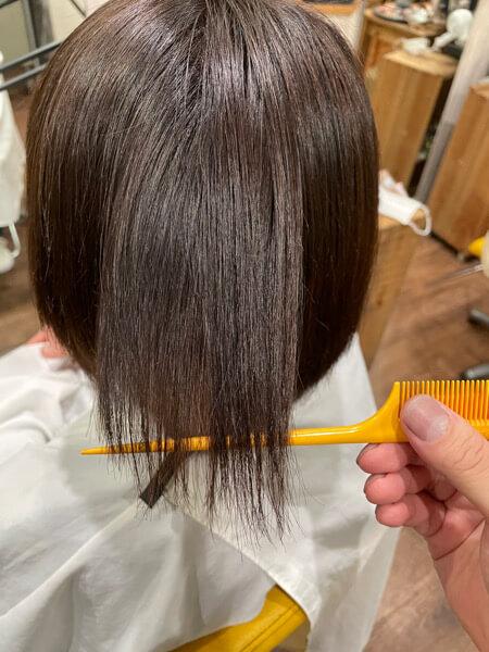 【大阪 今里】髪の毛を伸ばしたいのに癖が邪魔な人にはジュエリーシステムの縮毛とLULUトリートメントがオススメ