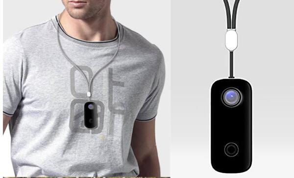 首にかけるウェラブルカメラ Pendant Cameraが安い!