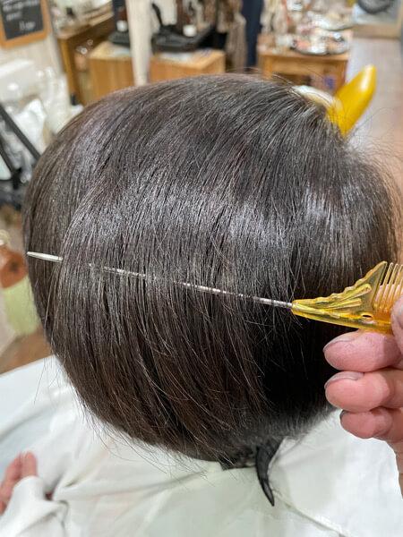 【大阪】ハイトーン、白髪染めにトリートメンをすると髪の毛はどう変わる?