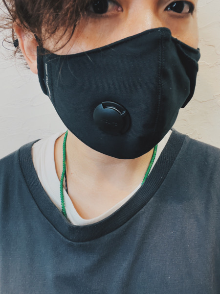 YOHJI YAMAMOTO(ヨウジヤマモト)のマスクを購入してみた