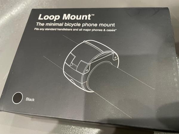 自転車につけるLoop Mountが来たのだが…