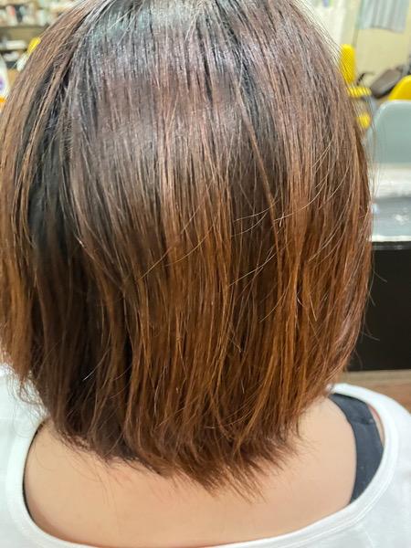 【大阪 今里】たった3分て髪がツヤツヤに変わるLULU トリートメントがカラーの時はオススメ