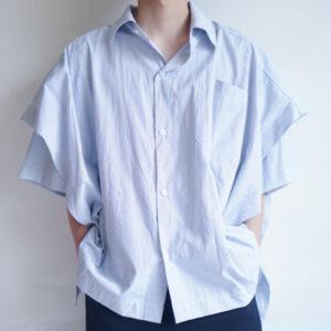 夏に過ごしやすいシャツが入りました