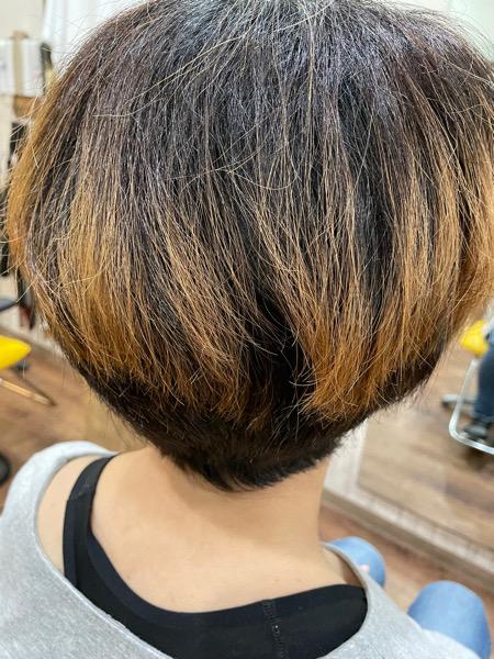【大阪 今里】ブリーチ毛のショートヘアの縮毛矯正はジュエリーシステムトリートメントがオススメ