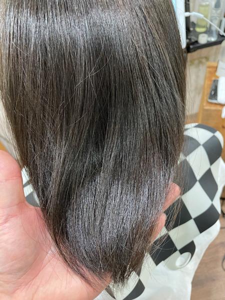 【大阪】夏にオススメの艶のあるグレーカラー