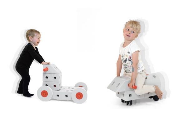 子どもの想像力と運動を引き出すおもちゃ、MODUが気になる