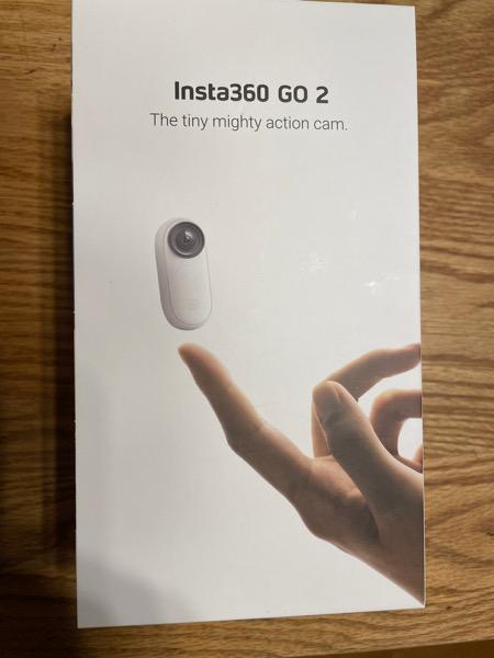 Insta360go2を試してみた