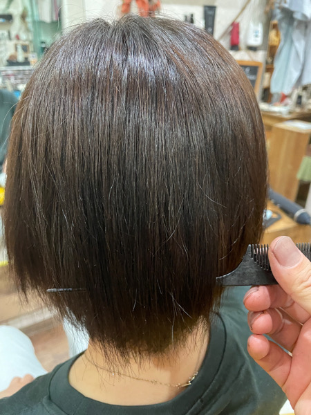 【大阪 今里】艶のある外国人風白髪染めをするためにLULU トリートメントがオススメ