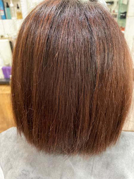 【大阪 今里】広がりやすい髪質のカラーにはベホマトリートメントがオススメ